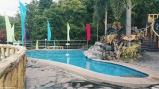 Pool above the kiddie pool