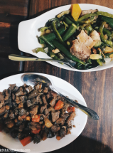 Igado and Pinakbet