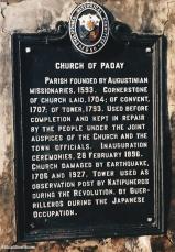 Paoay Church history