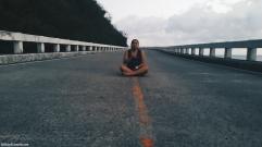 Road by Patapat Bridge