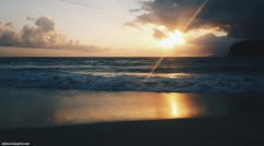 Sunrise by Pagudpud Beach